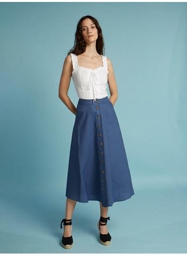 Faraway Morelia Skirt Mavi